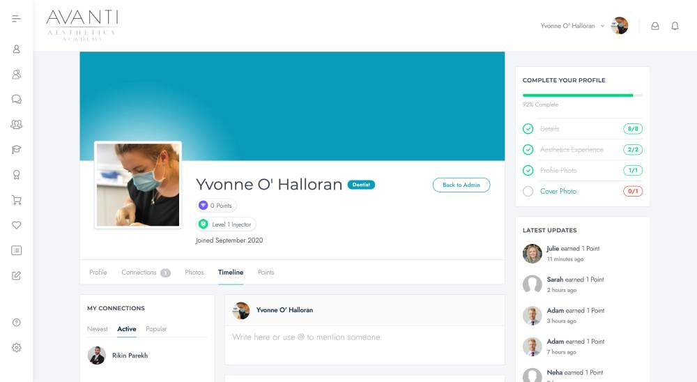 Timeline – Yvonne O' Halloran – Avanti Aesthetics Academy_ - avantiaestheticsacademy