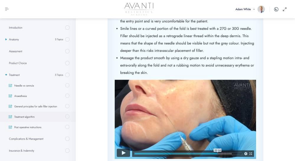 Treatment algorithm – Avanti Aesthetics Academy_ - avantiaestheticsacademy